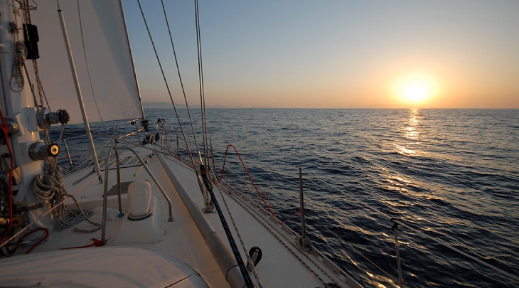Sail the magnificant Aegean Sea
